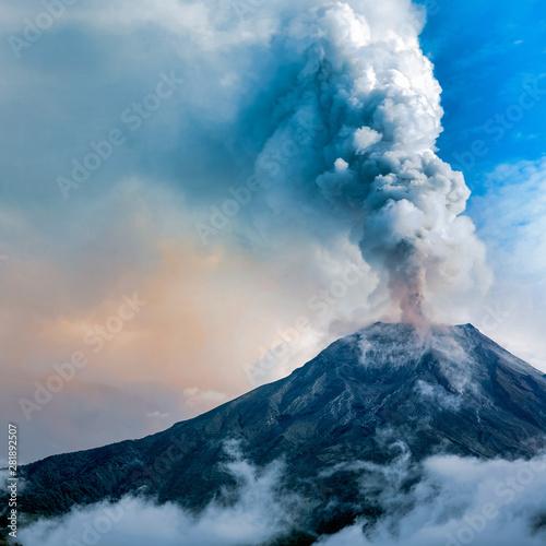 Tungurahua volcano eruption, Ecuador Wallpaper Mural