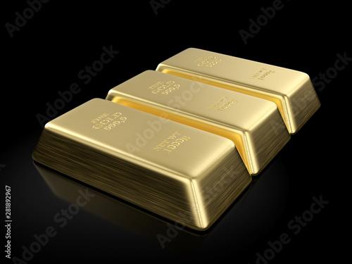 Stickers pour portes Pierre, Sable Gold bars