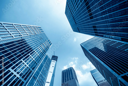 Fotografie, Tablou Office tall building