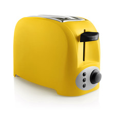 Yellow Bread Toaster, Isolated...