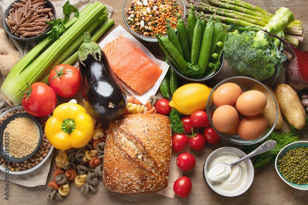 Fototapety, obrazy: Healthy food.