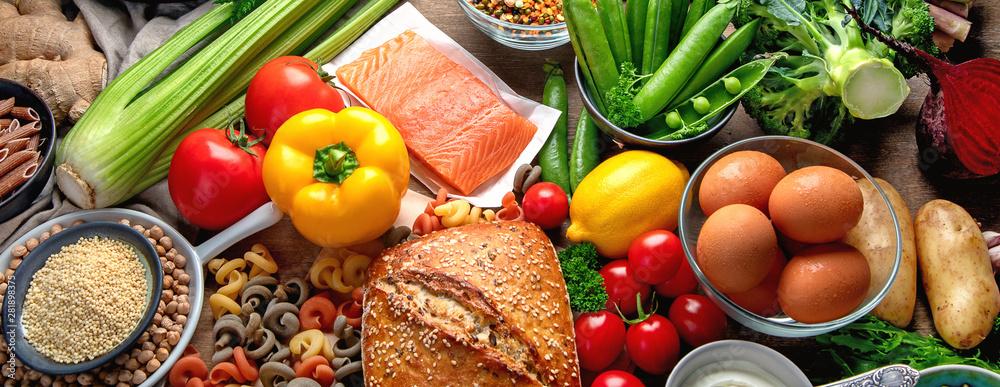 Fototapeta Healthy food.