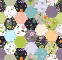Beautiful Seamless Patchwork P...