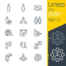 Lineo Editable Stroke - Busine...