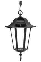 Isolated Classic Street Lamp. Ceiling Hanging Lantern
