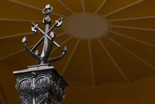 Anchor Monument  Navy Symbol Marine Touristic
