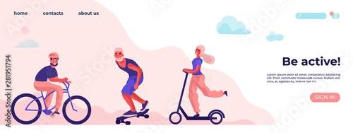 Be active and physical activity Tapéta, Fotótapéta