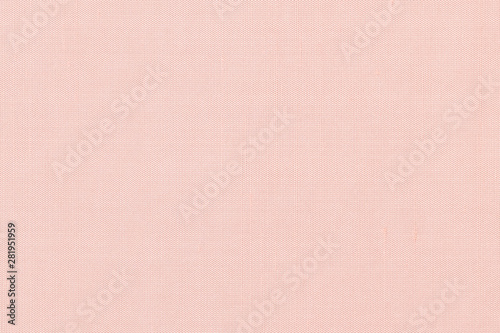 Cuadros en Lienzo  Pink satin silky fabric cloth wallpaper texture pattern background in pastel pal