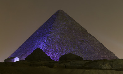 Great Pyramid of Giza in Cairo, Egypt