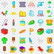 Vacuum cleaner icons set. Cartoon style of 36 vacuum cleaner vector icons for web for any design