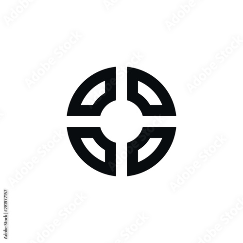Photo  target icon for web and mobile