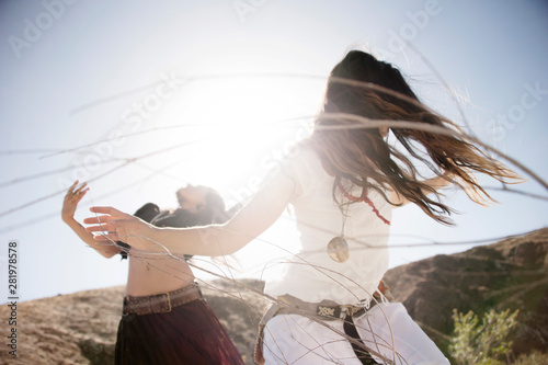 Fotografie, Obraz Two Women Dancing