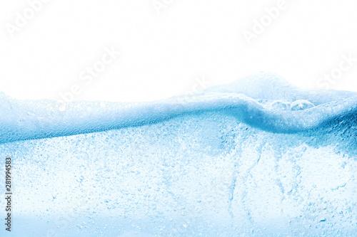 Fotografía  Design of abstract blue water surface