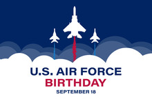 US Air Force Birthday. Septemb...