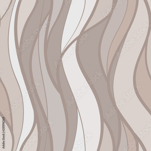 Valokuva  abstract lines waves pattern seamless , curve intertwine line shape hand drawn h