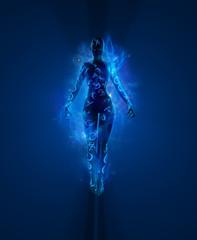 Magical woman