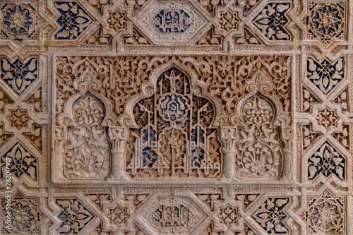 Canvastavla  alhambra, allah, ancient, andalucia, andalusia, antique, arabic, architecture, a