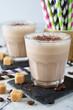 Milkshake with coffee