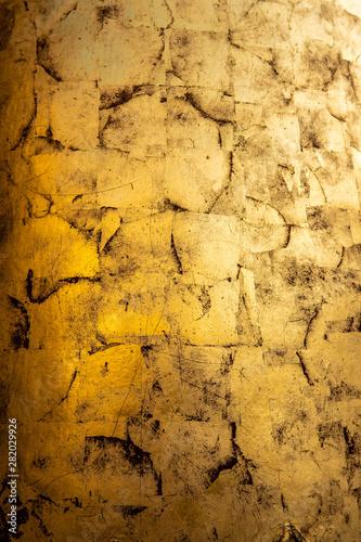 gold textures on buddhist stupas