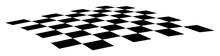 Slightly Curved Checkerboard E...