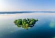 canvas print picture - Insel Im Starnberger See, Bayern, Deutschland
