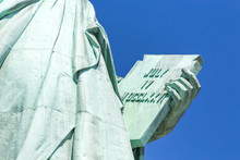 Detail Of The Lady Liberty Sta...