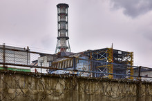 Chernobyl Nuclear Power Plant In Chernobyl Exclusion Zone