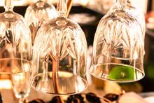 Vintage Wine Glass Transparent Clear Set Base Design Bar Cocktail Wine