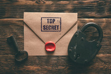 Top Secret Documents In Envelo...