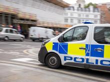 Police Van Speeding