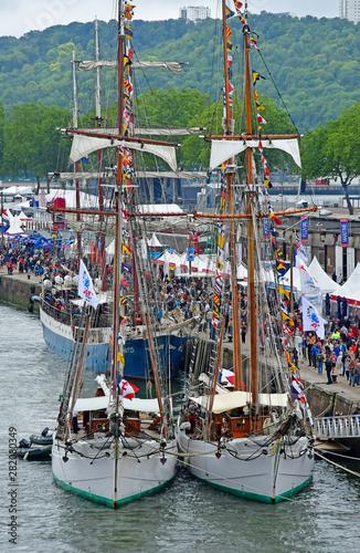 Photo Rouen, France - june 10 2019 : the Armada de Rouen