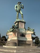 Michelangelo's David; Bronze R...