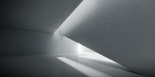 Abstract Of Concrete Interior ...