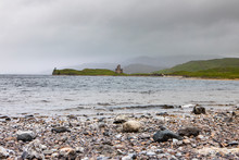 Ardvreck Castle In Misty Weath...
