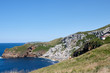 Puerto Calderon cliff in Cantabria, Spain