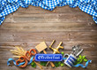 canvas print picture - Background for Oktoberfest