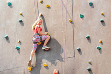 The Girl On The Tower Of Climb...