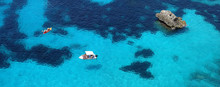Les Eaux Turquoises De La Mer Méditerranée