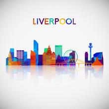 Liverpool Skyline Silhouette I...