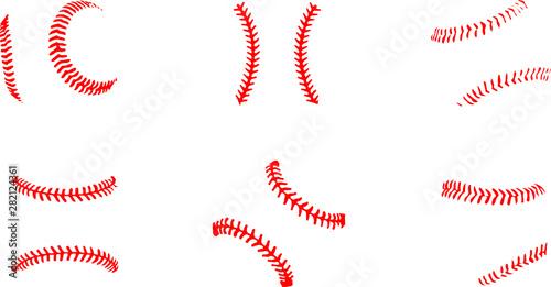 Valokuva  baseball icon on white background