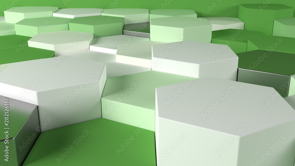Fototapeta 3D Geometric Abstract Background