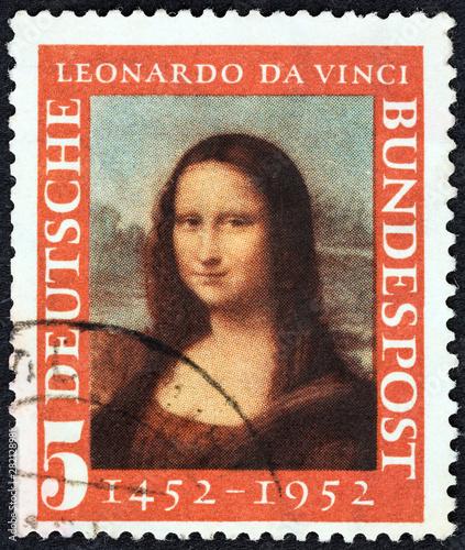 Photo Mona Lisa by Leonardo da Vinci (Germany 1952)