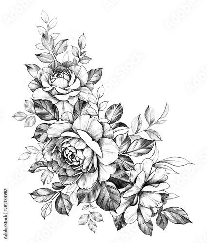 recznie-rysowane-kompozycje-z-kwiatow-rozy