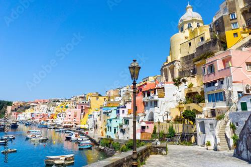 Photo sur Toile Europe Méditérranéenne Procida island in Italy