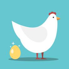 White Hen, Gold Egg