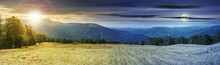 Panoramic Mountain Landscape D...