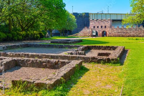 Cuadros en Lienzo Mamucium,  a former Roman fort in Manchester, UK