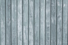 Gray Wood Vertical Planks In Rustic Style. Grunge Background Of Construction Material. Wooden Texture Board. Pattern Of Grey Old Floor. Vintage White Pine For Design. Light Wooden Dirty Wall Surface.