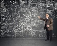 Genius Aged Teacher