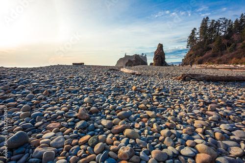 Photo Pebbles on Ruby Beach, Olympic National Park